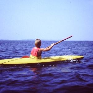 Bootsform für ein Jugendkajak