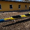 Kajak K2 Plastex Sting Ergo blau/gelb