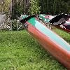 Nelo Quattro SCS Größe L Jan. 2012 Olympiaboot London Einzelstück Airbrush